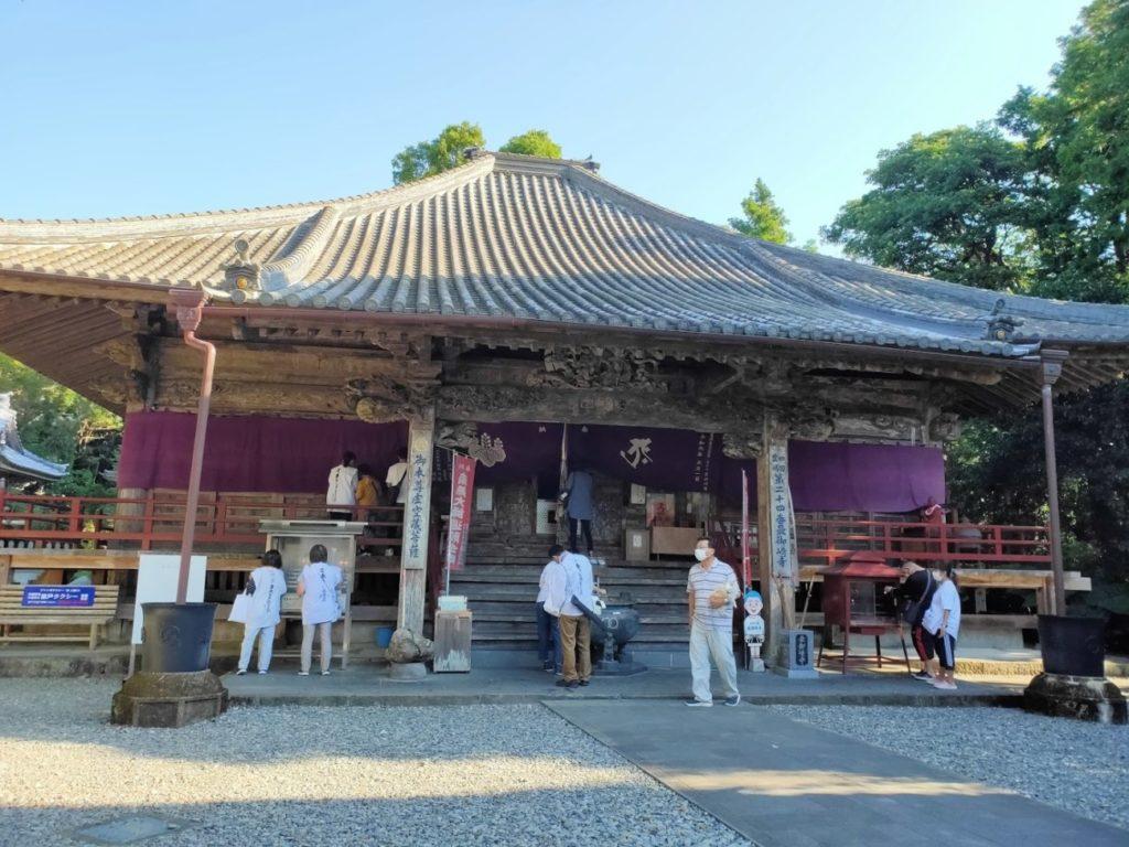 24番最御崎寺の本堂