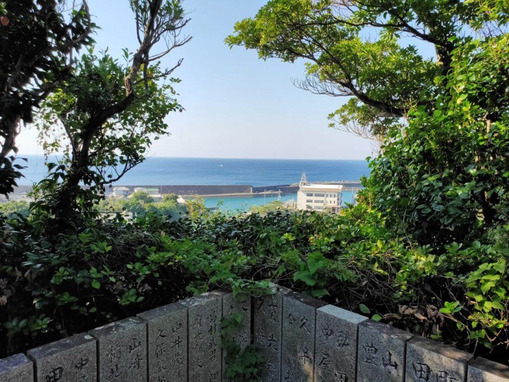25番津照寺の頂上からの風景