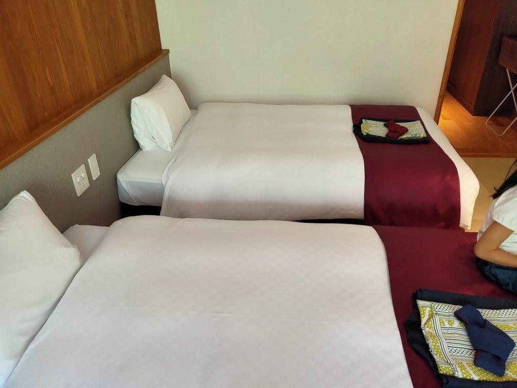 ゆずの宿のツインベッド