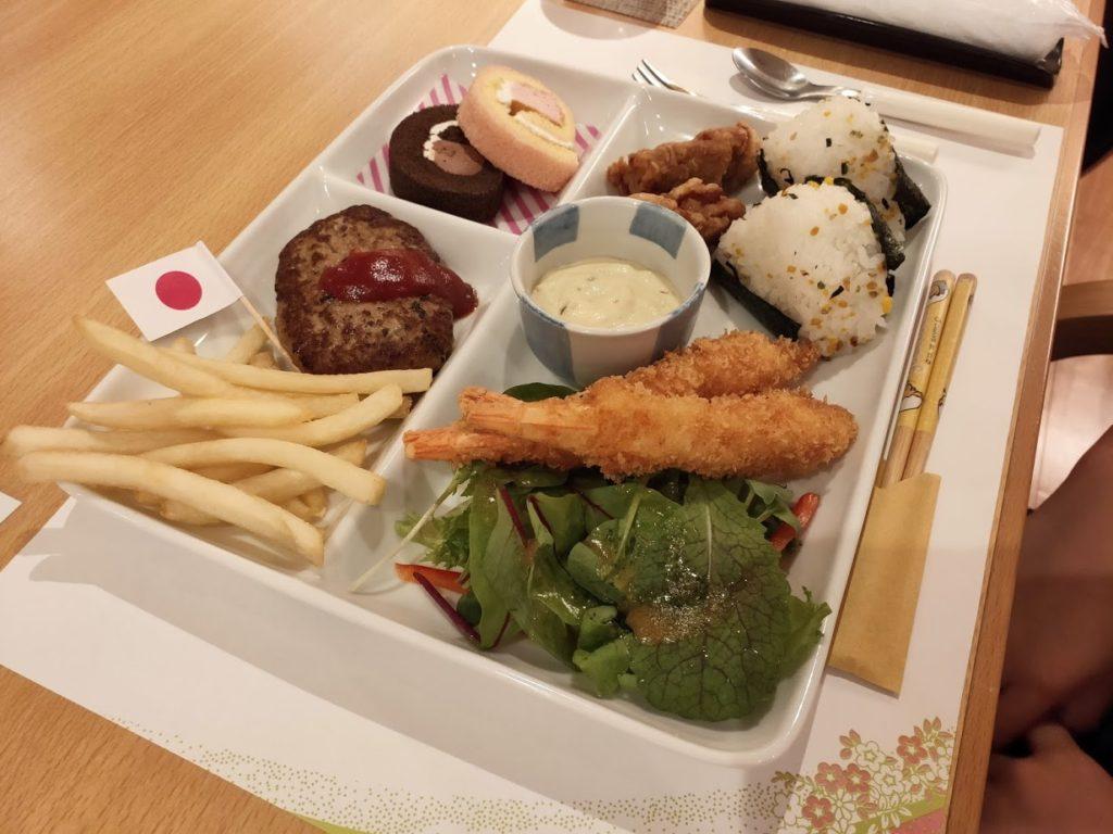 ゆずの宿の子供の夕食