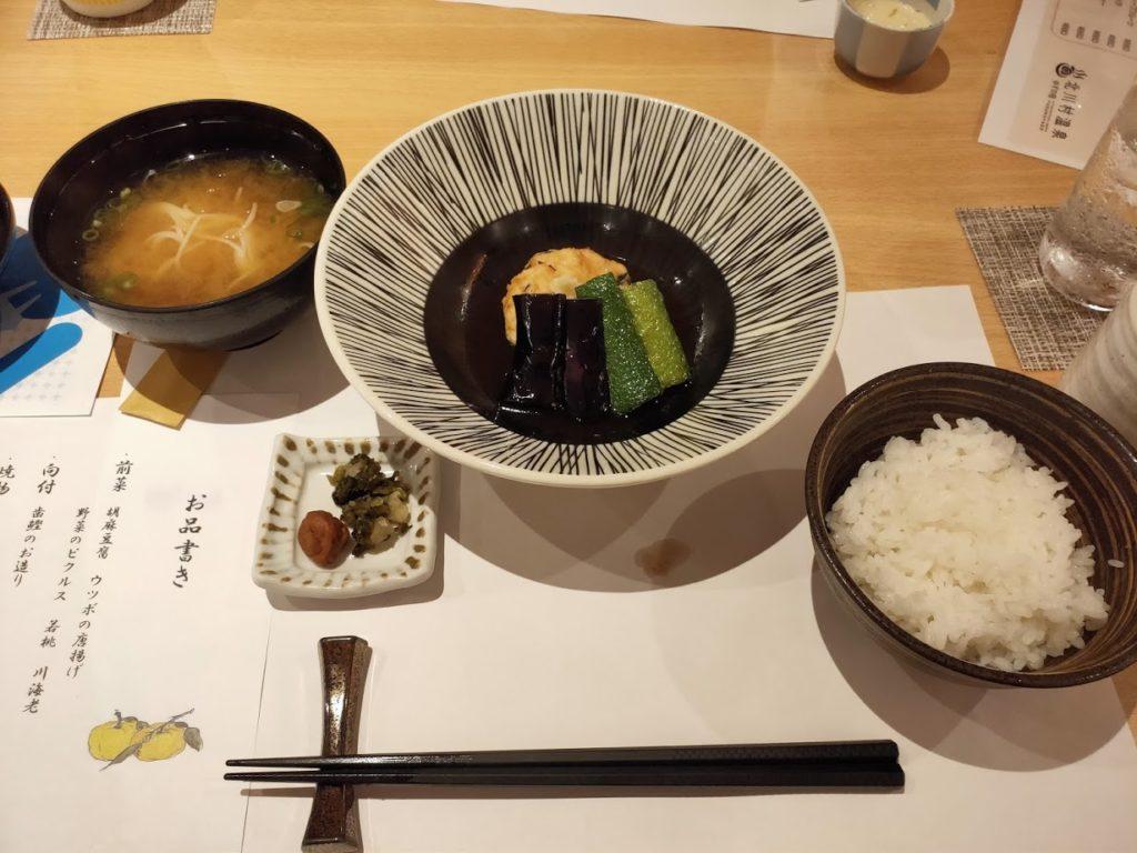 ゆずの宿の夕食4