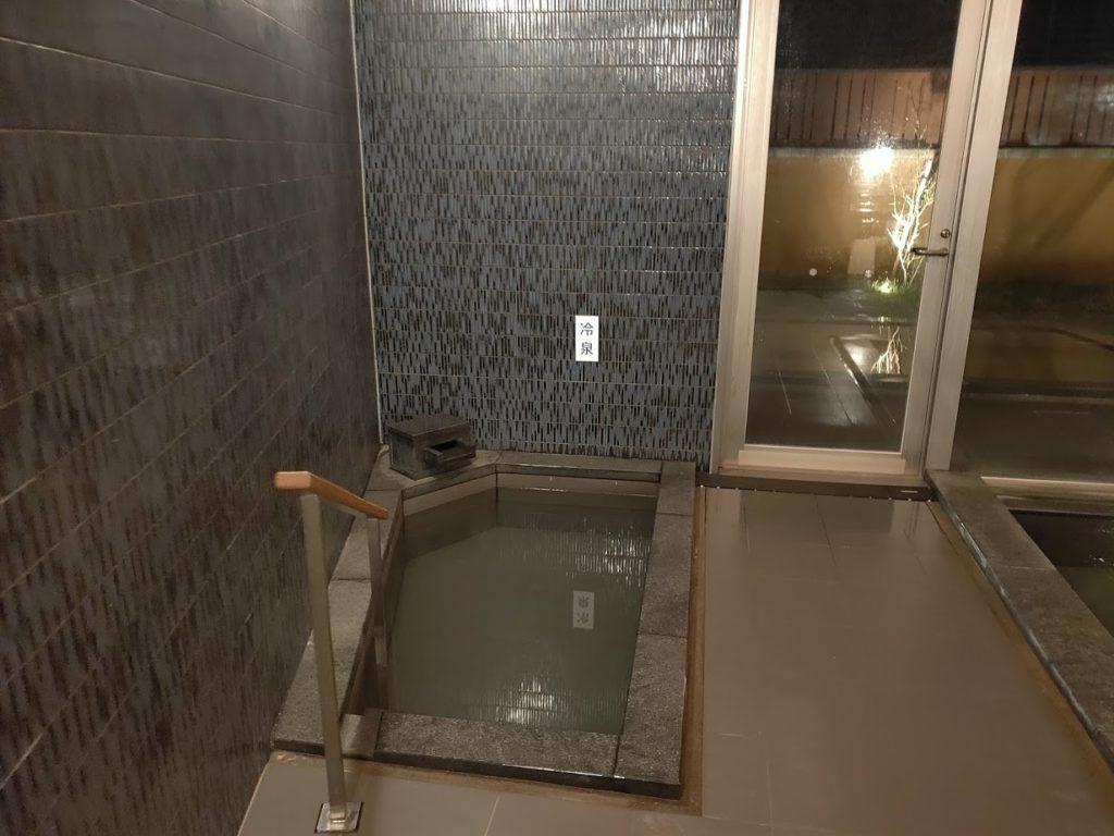 ゆずの宿の内湯水風呂