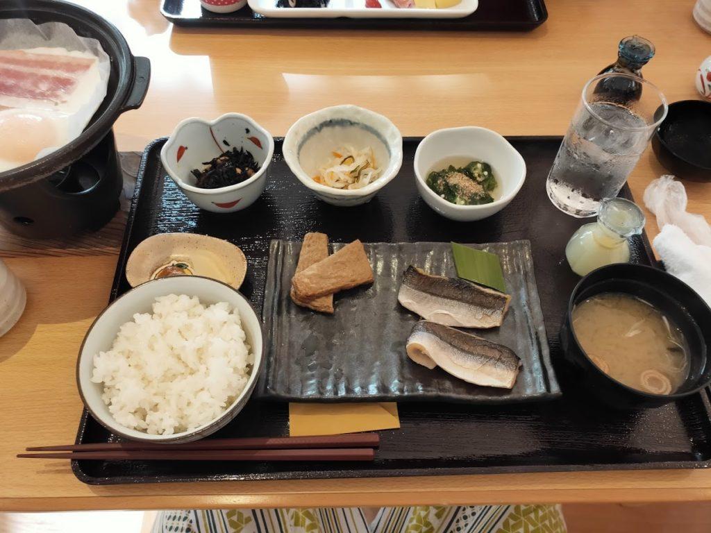 ゆずの宿の朝食