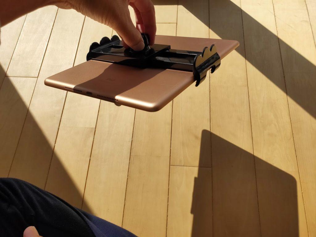 ハイエース用ipadホルダーの耐久性