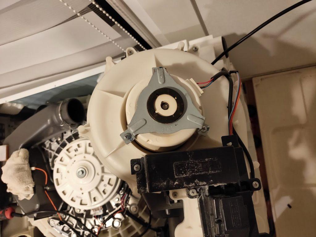 パナソニック洗濯機のモーター