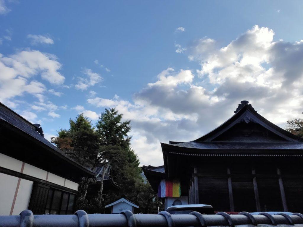 37番岩本寺の空