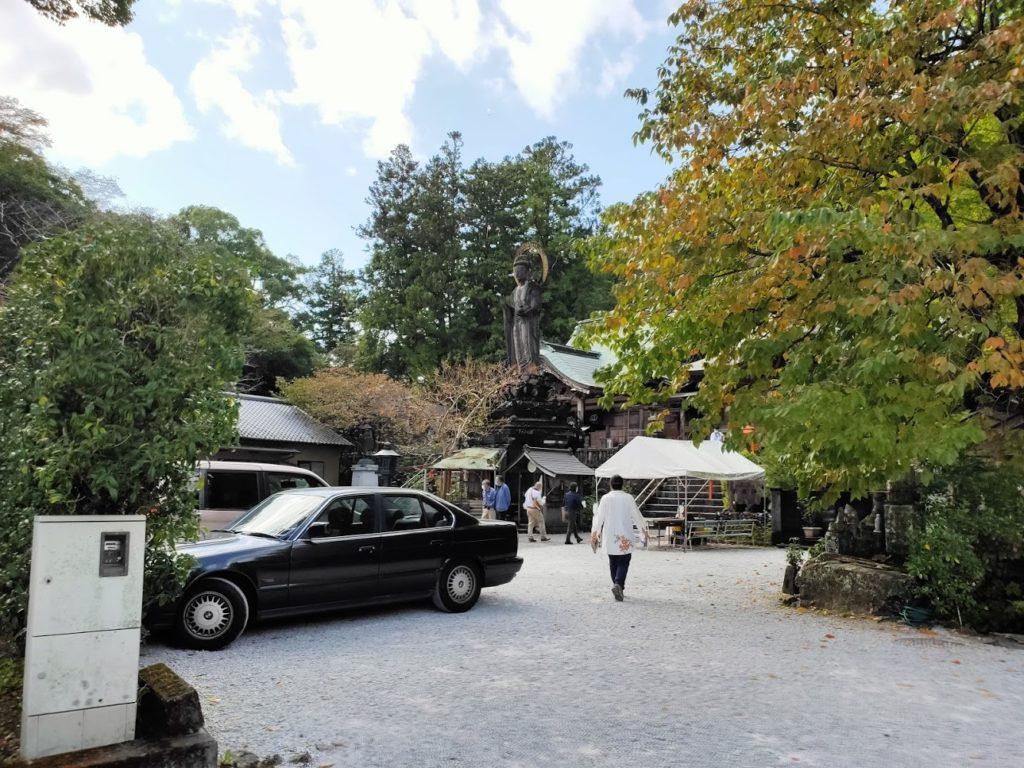 35番清瀧寺の駐車場