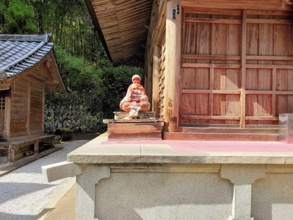 35番清瀧寺のおびんずる
