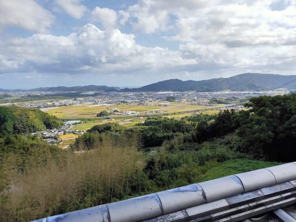 35番清瀧寺の寺からの景色