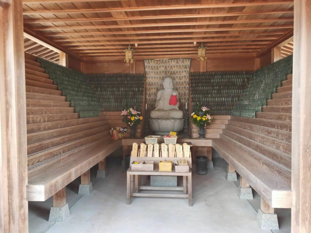 34番種間寺の地蔵
