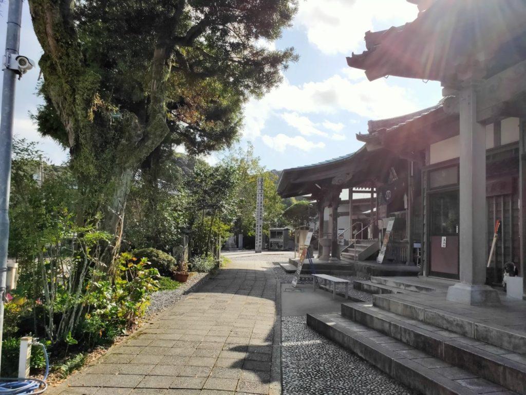 34番種間寺の道