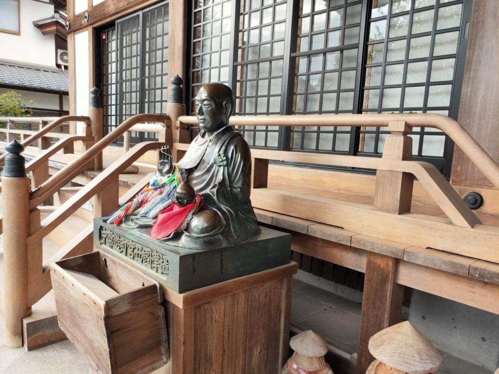 33番雪蹊寺のお賓頭盧