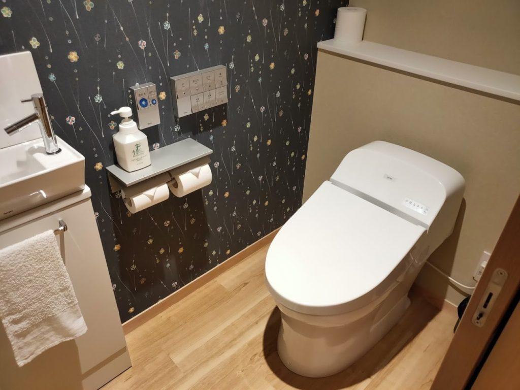 三翠園のトイレ