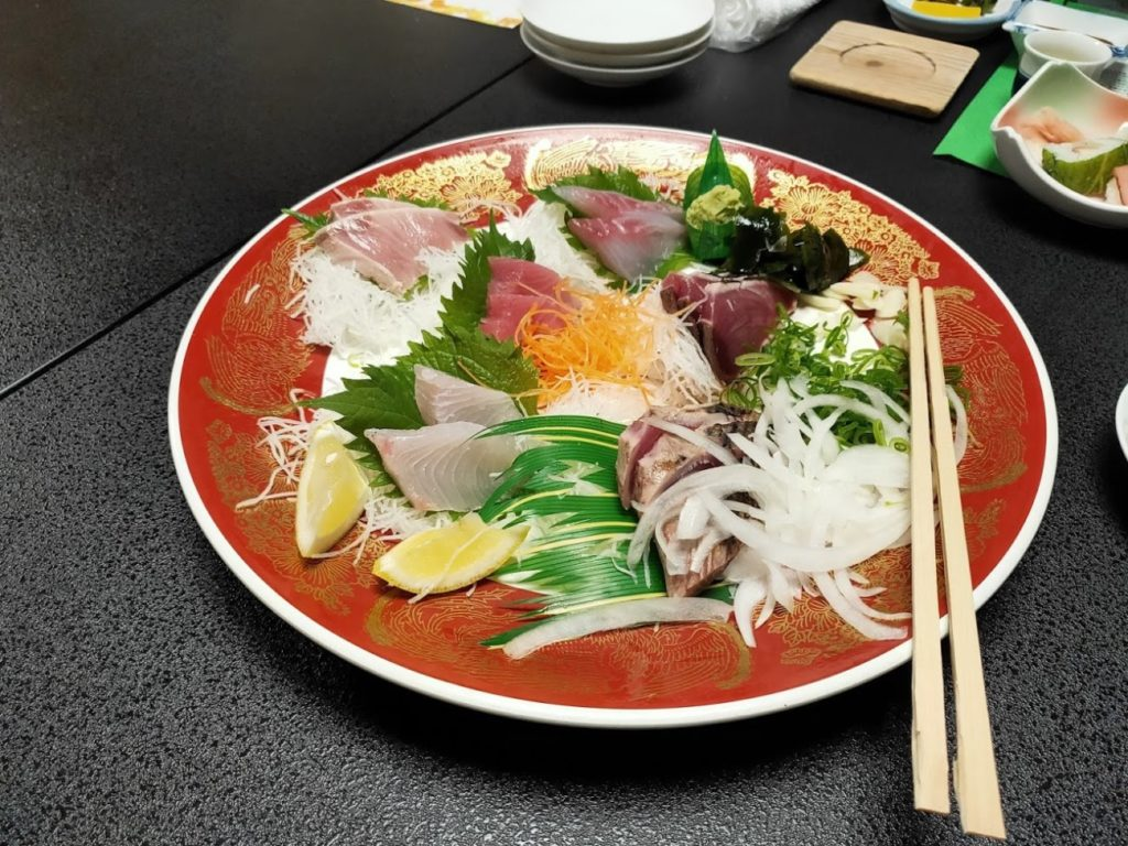 三翠園の夕食1