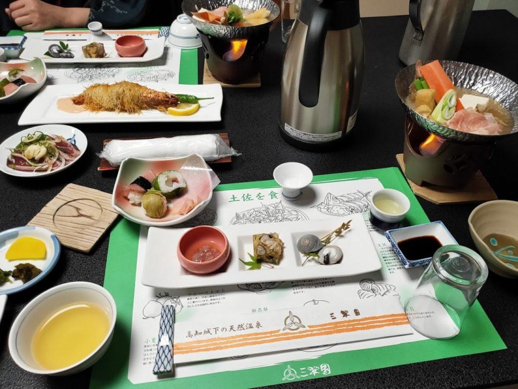 三翠園の夕食2