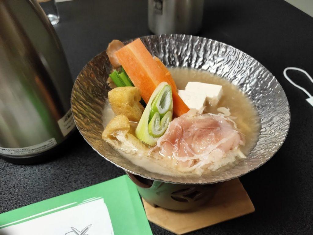 三翠園の夕食3