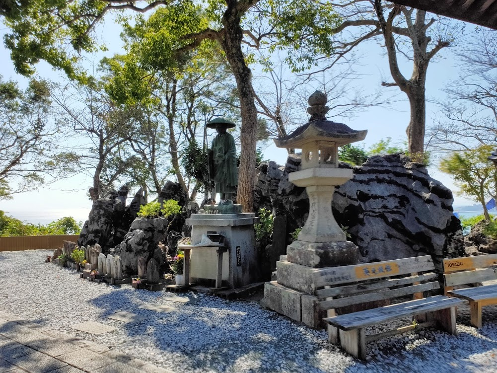 32番禅師峰寺の弘法大師像