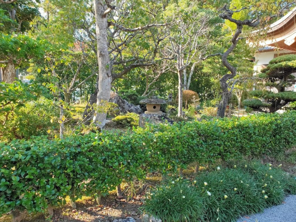 30番善楽寺の庭園