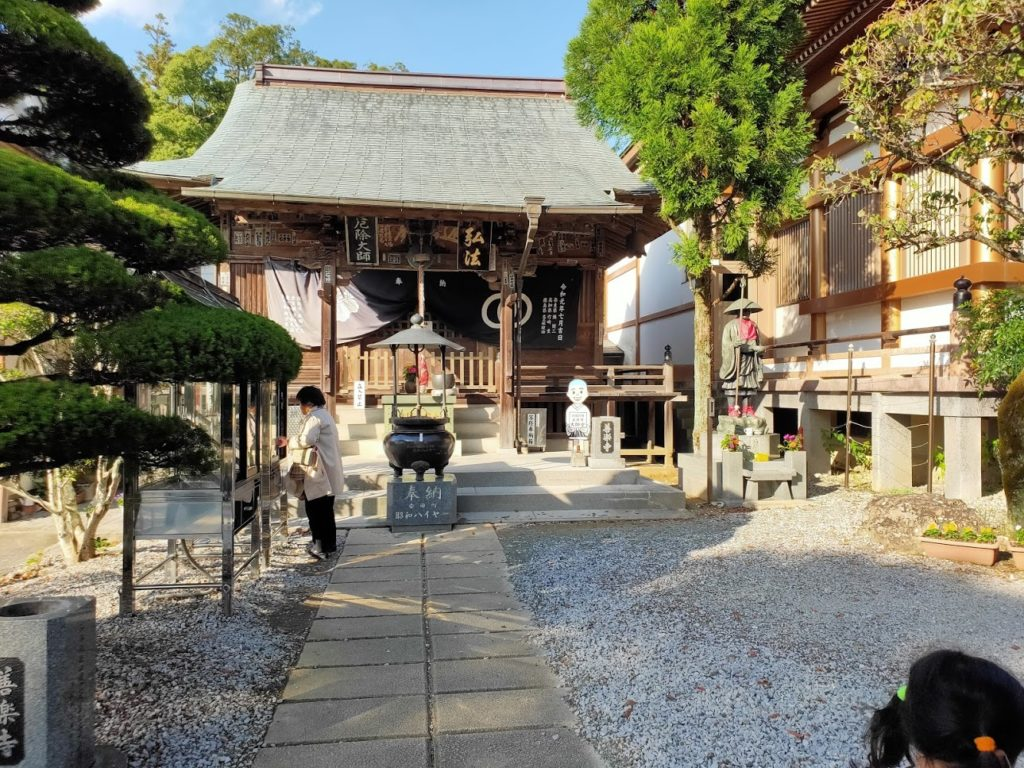 30番善楽寺の大師堂