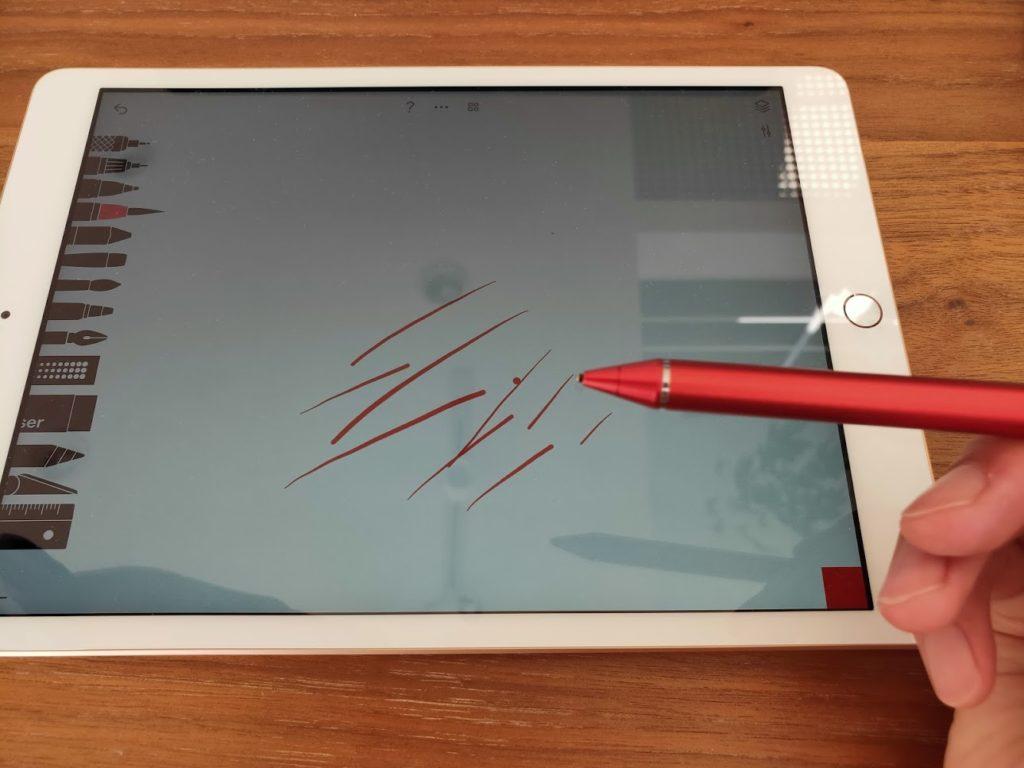 ipadペンを使う