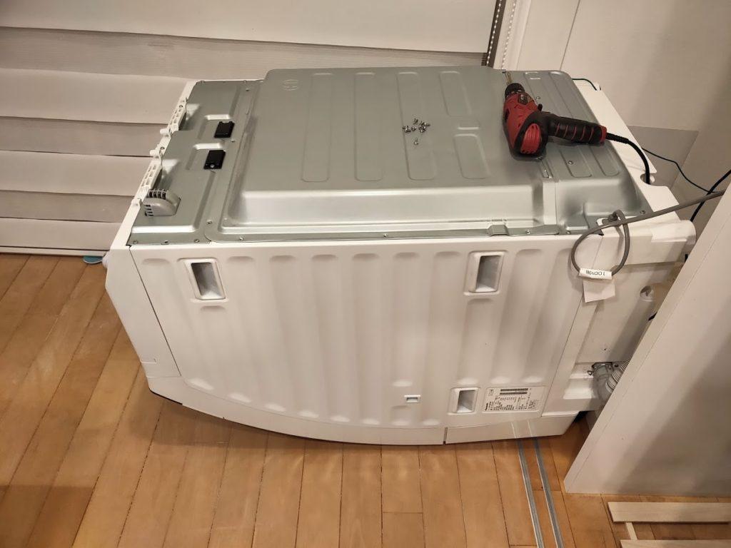 パナソニック洗濯乾燥機を倒す