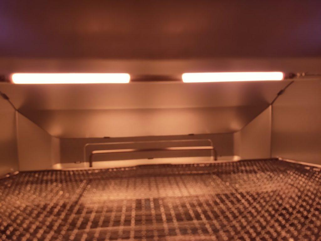 アラジントースターの庫内ヒーター