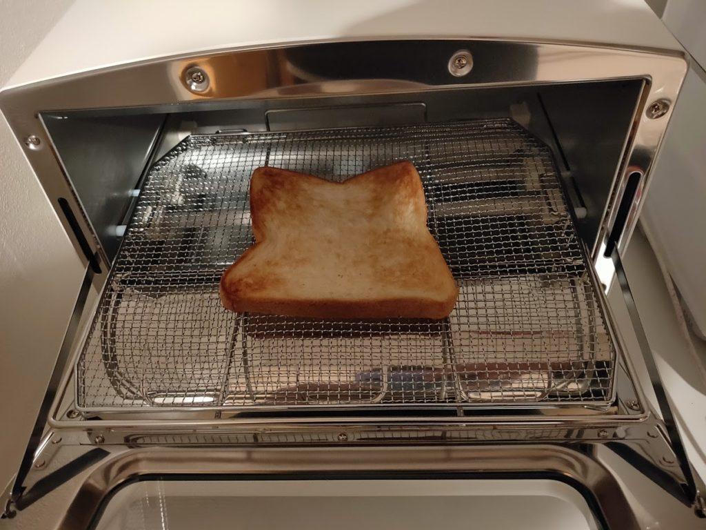 アラジントースターでパンを焼く画像5