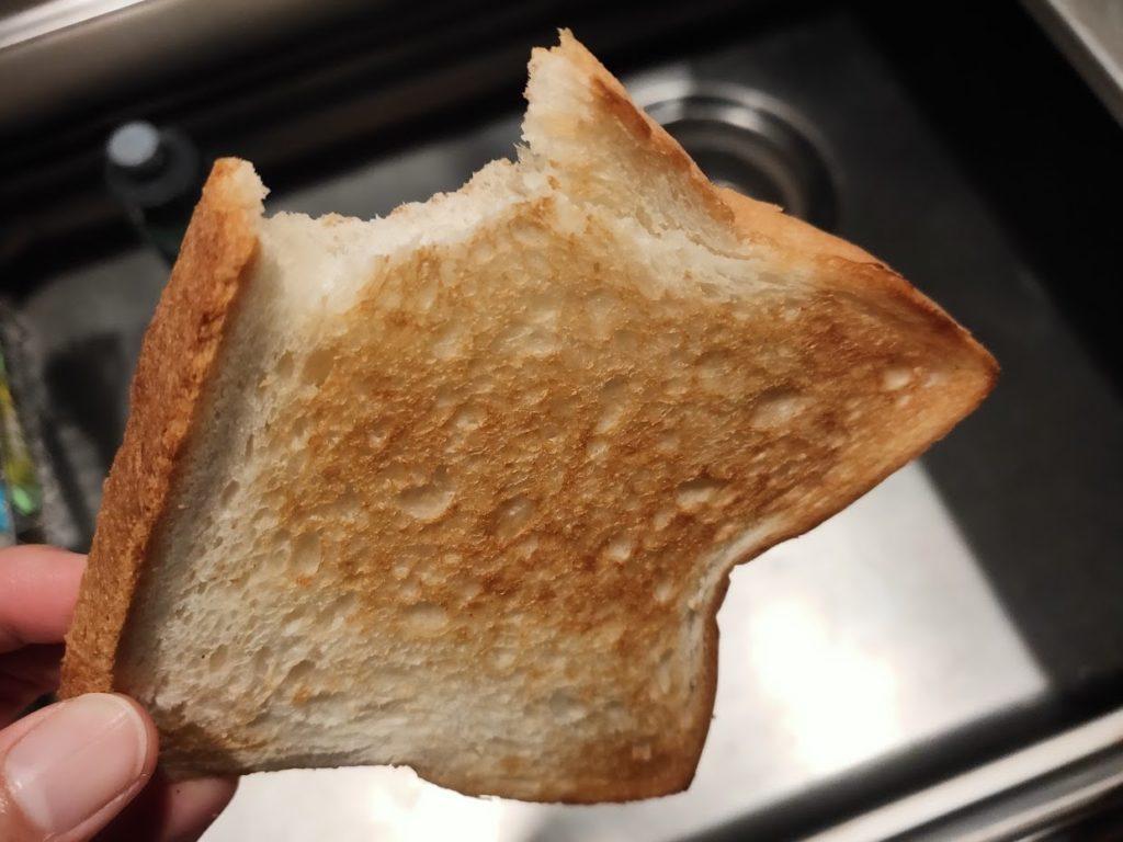 アラジントースターでパンを焼く画像7