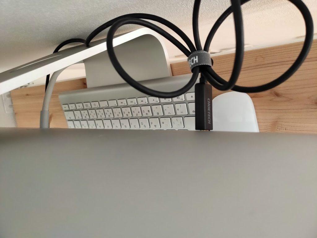 iMacサブディスプレイ化のケーブル1