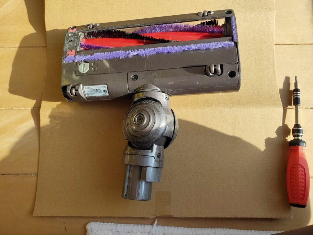 ダイソン掃除機ヘッド修理必要工具トルクス