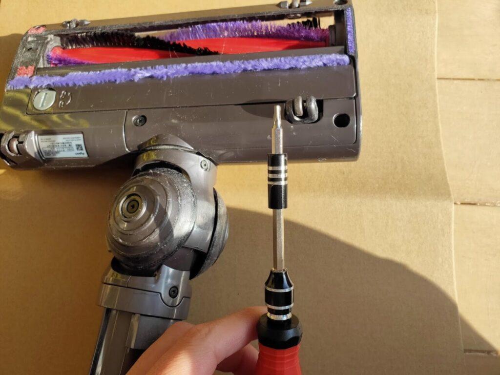 ダイソン掃除機ヘッド修理必要工具トルクス2