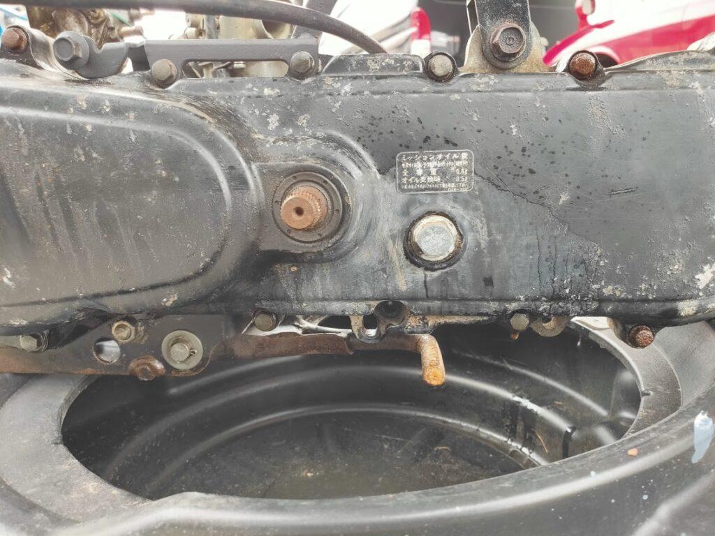 モトコンポのエンジン部分