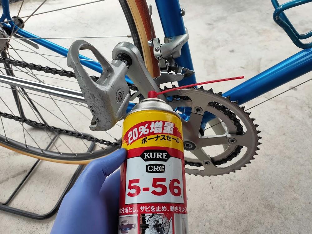 ロードバイクと潤滑剤