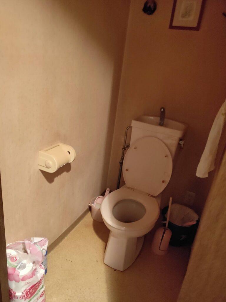 BIT落札後物件トイレ