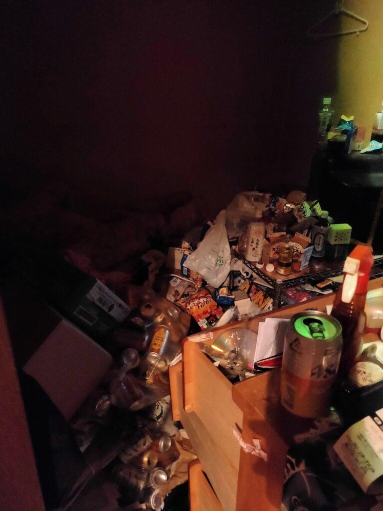 BIT落札後物件洋室ゴミ