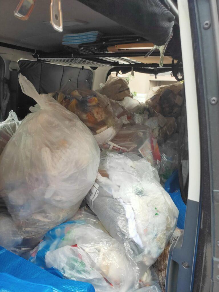 BIT落札後の物件のゴミを載せる2