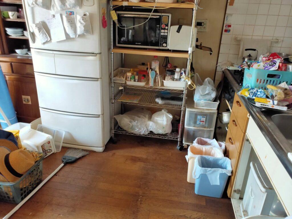 BIT落札後の物件の・キッチン