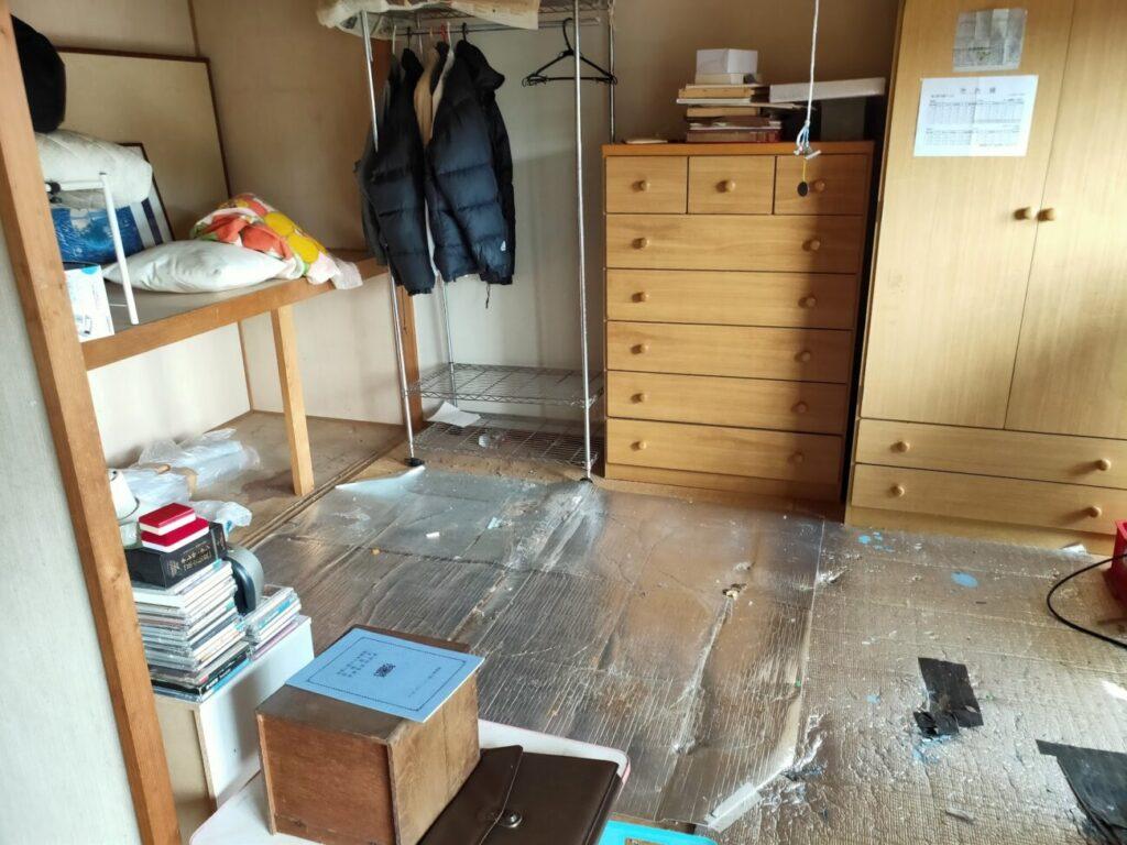BIT落札後の物件の和室状況